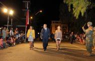 Con multitudinaria participación Vicuña celebra sus 196 años