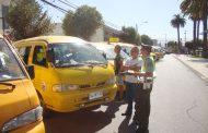 Autoridades y carabineros efectúan detenida fiscalización del Transporte Escolar en Ovalle