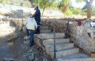 Realizan mejoramiento de acceso a la población Villalón de Ovalle