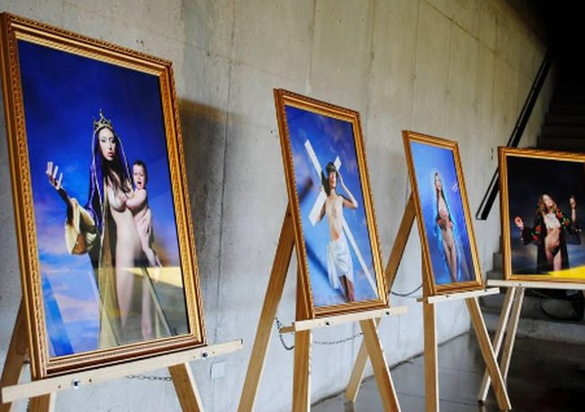 Polémica muestra fotográfica llega a Ovalle para provocar al espectador