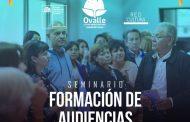 Invitan a artistas, gestores y profesores a Seminario de Formación de Audiencias