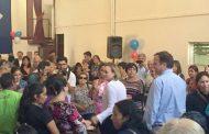 En Ovalle candidata presidencial DC Carolina Goic inicia gira nacional