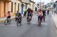 Cinco bicicletas fueron sorteadas entre participantes de Primera Cicletada Familiar