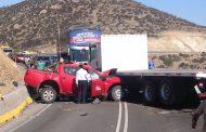 Accidente se registra en Cuesta Las Cardas