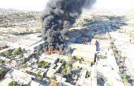 Trabajos de soldadura serían el origen del incendio de Empresas Dabed