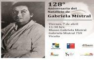 Museo Dibam de Vicuña celebra a Gabriela Mistral en su natalicio