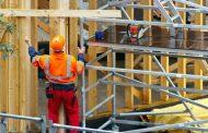 Construcción regional registra severa caída del 10%