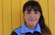 Estudiante montepatrina es reconocida a nivel regional