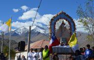 Virgen peregrina de Andacollo visitará comunidades de Carén durante este fin de semana