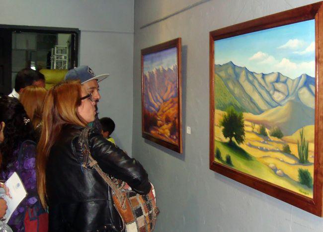 Emotiva ceremonia de inauguración de exposición retrospectiva de Guillermo Pizarro