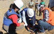 Sellan pozo que extraía aguas de manera ilegal en el sector de Pejerreyes