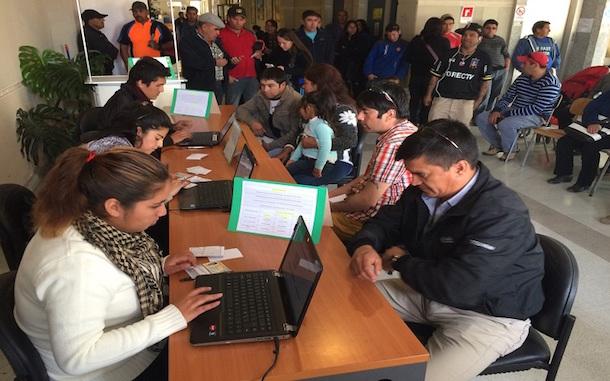 Estudiantes de Santo Tomás apoyaron al SII en Operación Renta 2017