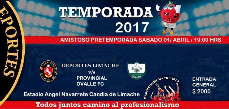 En Limache continúa Provincial Ovalle su preparación para el debut
