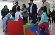 Junaeb entrega set psicomotor a párvulos de la provincia para combatir la obesidad