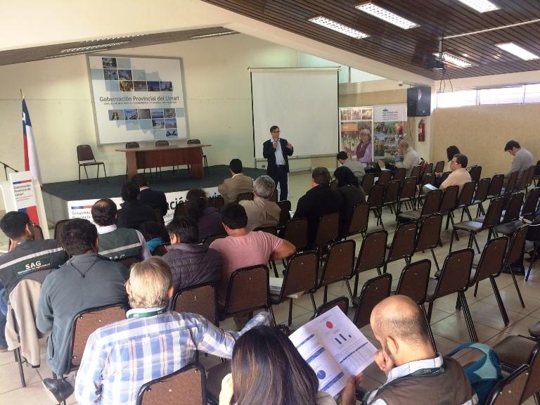 Ovalle: Mesa de Trabajo del Ministerio de Agricultura contó con más de 50 agricultores de la región