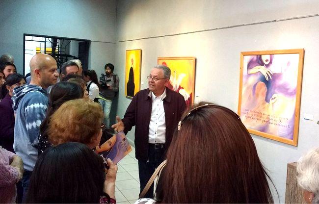 Artista ovallino invitado a prestigiosa exposición de la UCN de Antofagasta