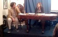 Nancy Mendoza expuso situación de la literatura ovallina  en encuentro nacional de la SECH