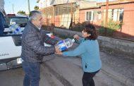 Entregan 3.500 litros de agua envasada a afectados por la falta de suministro en Ovalle