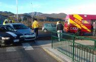 Colisión en la Avenida Costanera deja tres lesionados