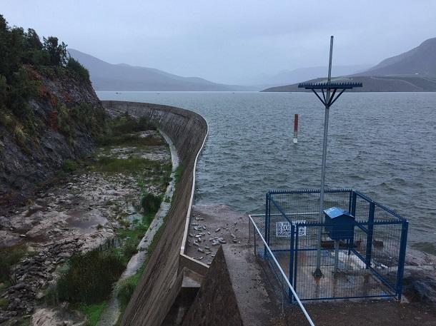 Embalses de la provincia llenitos con la lluvia