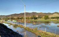 Canchas de fútbol de la ribera del río aguantaron el aguacero