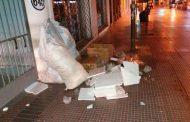Municipio de La Serena notifica a locales céntricos por no botar basura de acuerdo a la norma