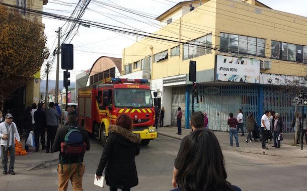 Amago de incendio afectó a oficina del Conservador de Bienes de Ovalle