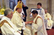 Joven punitaquino es ordenado Diácono de la Diócesis de La Serena