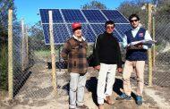 Iniciativa permite a agricultor combarbalino ahorrar el 100% de gastos en electricidad