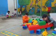 Niños de la Población El Manzano pasarán vacaciones invernales en el jardín infantil