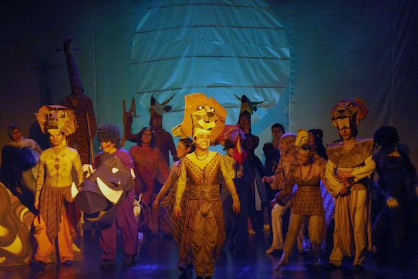 Entretenido Musical del Rey León da inicio a las actividades de Vacaciones de Invierno