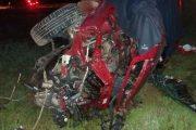 Tragedia en ruta D- 45: una persona fallecida en colisión múltiple