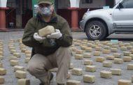 306 kilos de cocaína fueron decomisados en operativo del OS-7 de carabineros