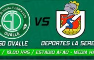 CSD Ovalle se enfrentará de local contra Club Deportes La Serena