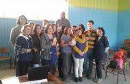 Dirigentes sociales y vecinales de Monte Patria se informan sobre el Fono Drogas