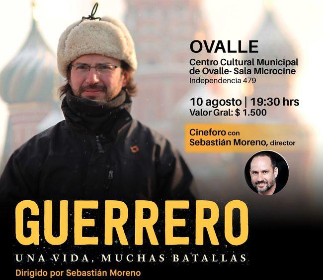 """Director de documental """"Guerrero"""" estará en foro con espectadores hoy en sala de Microcine"""