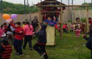 Inauguran nuevos juegos infantiles en el Colegio El Ingenio