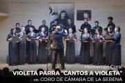"Llega a Ovalle obra coral homenaje a Violeta Parra: ""Cantos a Violeta"""