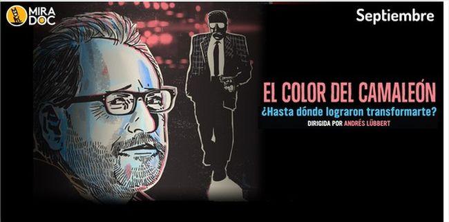 El color del camaleón: una mezcla de documental y thriller