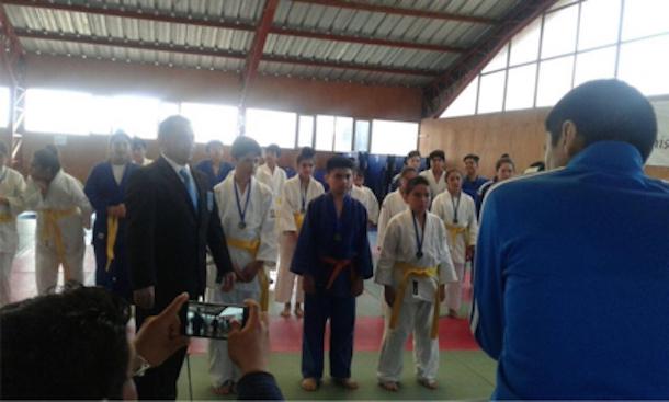 Ovallino califica como seleccionado regional de Judo