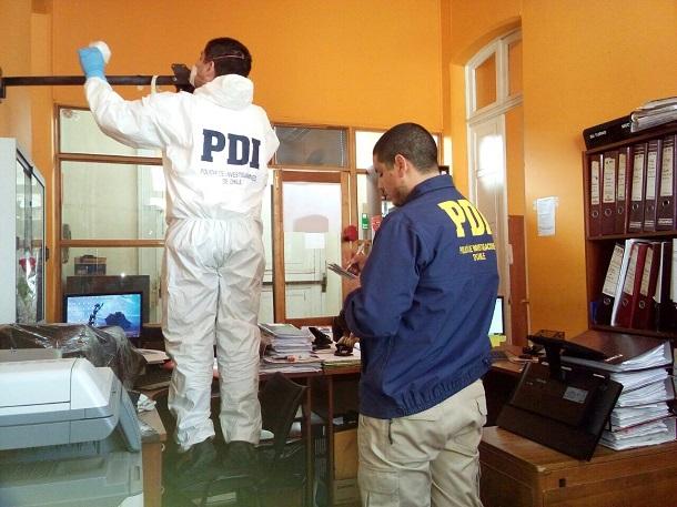 PDI investiga robo a la Municipalidad de Ovalle