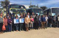 Beneficiarios limarinos celebran 8vo aniversario de Ley de subsidio al transporte público