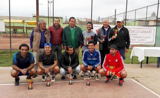 Gutierrez, Yáñez, Valdés y Allende ganaron torneo de tenis