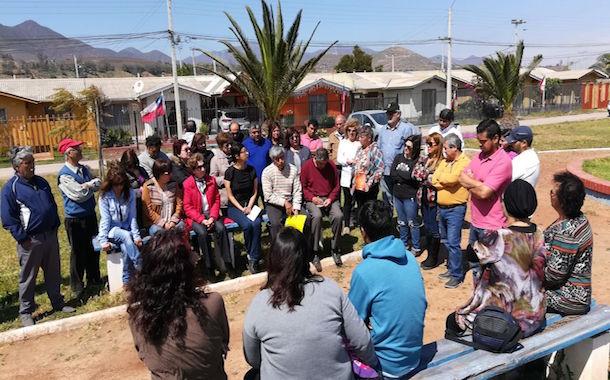 Vecinos de Villa Las Palmas: