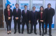 Estudiantes ovallinos participan en Torneo Nacional de Debates