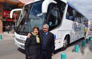 A distintos lugares podrán ir a turistear adultos mayores gracias a compra de bus municipal