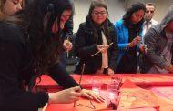 Estudiantes ovallinos aprendieron acerca de caligrafía china