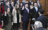 Joven profesional ovallino presta juramento como nuevo abogado