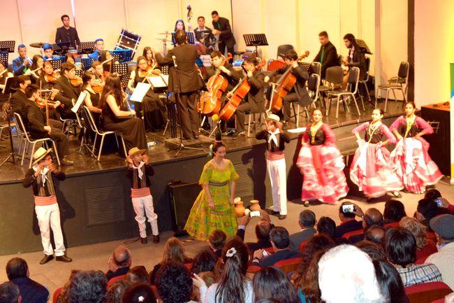 Con éxito rotundo finalizó el V Encuentro Internacional de Orquestas Sinfónicas Juveniles Ovalle 2017.
