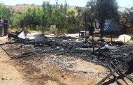 Incendio destruye vivienda en la localidad de El Trapiche